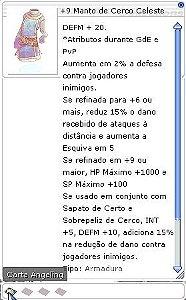 +9 Manto de Cerco Celeste