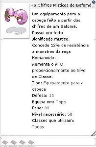 +5 Chifre Místico de Bafomé