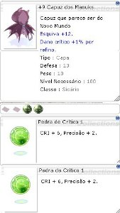 +9 Capuz dos Manuks Crítico 1/1