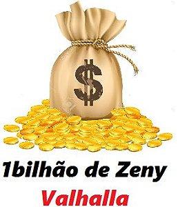 1 bilhão de Zeny - 1b   ( Ragnarok Valhalla )