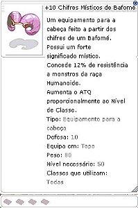 +10 Chifres Misticos de Bafomé