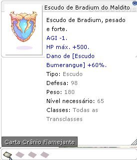 Escudo de Bradium do Maldito
