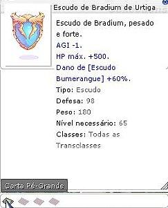 Escudo de Bradium de Urtiga