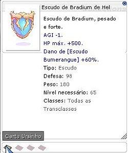 Escudo de Bradium de Hel