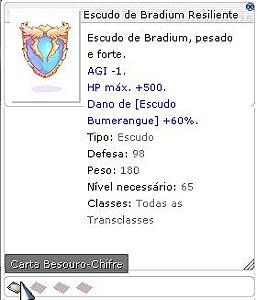 Escudo de Bradium Resiliente