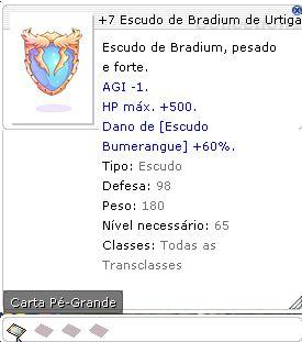 +7 Escudo de Bradium de Urtiga
