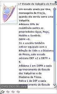 +7 Escudo da Valquíria de Prometeu