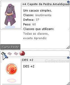 +4 Capote da Pedra Amaldiçoada Des +2