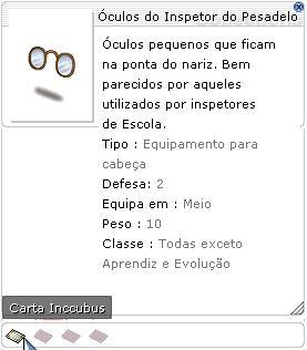 Óculos do Inspetor do Pesadelo