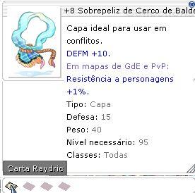 +8 Sobrepeliz de Cerco de Balder