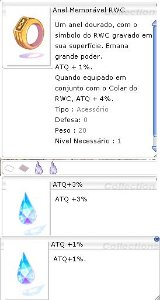 Anel Memorável RWC [1] ATQ 3%/1%