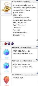 Colar Memorável RWC [1] Encantamento 3/3 HP 2%