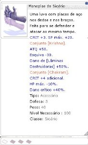 Manoplas de Sicário [1]