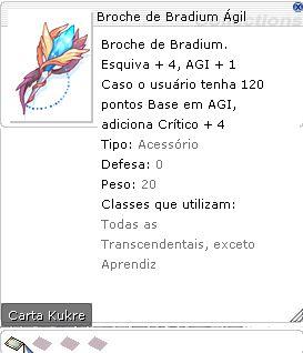 Broche de Bradium Ágil