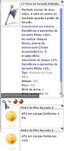 +7 Fúria do Furação Rebelde Mira 4/2