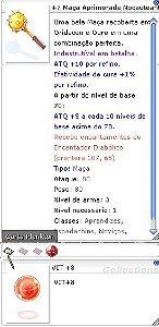 +7 Maça Aprimorada Nocauteante VIT+8