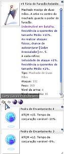 +9 Fúria do Furação Rebelde Encatamento 4/3