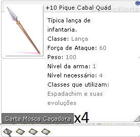 +10 Pique Cabal Quád