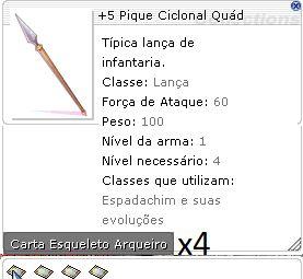 +5 Pique Ciclinal Quád