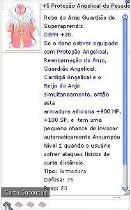 +5 Proteção Angelical do Pesadelo