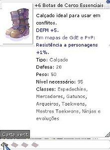 +6 Botas de Cerco Essenciais