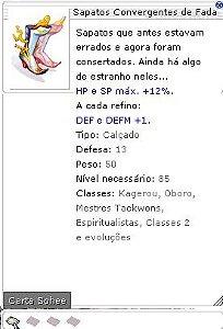 Sapatos Convergentes da Fada