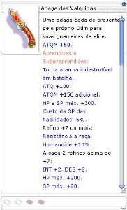 Adaga Das Valquírias [2]