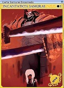 Carta Samurai Encarnado