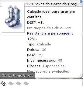 +2 Grevas de Cerco de Bragi