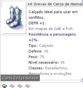 +6 Grevas de Cerco de Heimdall Selada
