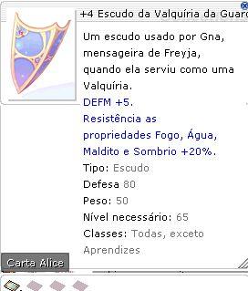 +4 Escudo da Valquíria da Guarda Real