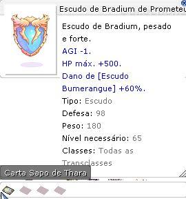 Escudo de Bradium de Prometeu