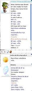 +9 Botas Temporais DES Histeria / MA 4