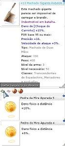+13 Machado Gigante Rebelde Mira 5/4