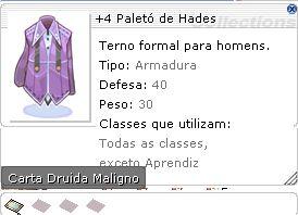 +4 Paletó de Hades
