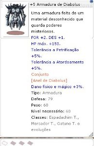 +5 Armadura de Diabolus [1]