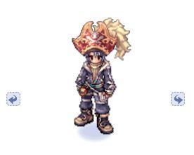 Chapéu da Realeza Pirata