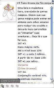 +9 Tiara Arcana da Pós-conjuração