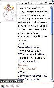 +9 Tiara Arcana da Mira Verdadeira