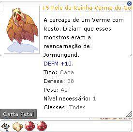+5 Pele da Rainha Verme do Golpe da Sorte  SUPER SOR / SOR 6 /VIT 6