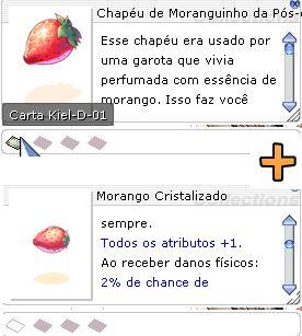 Combo Chapéu de Moranguinho da Pós-Cojuração + Morango Cristalizado [1]