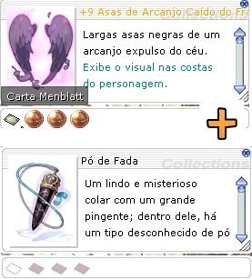 Combo +9 Asas de Arcanjo Caído do Franco Atirador Mira 3/2/1 + Pó de Fada [1]