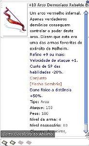 +10 Arco Demoniaco Rebelde Bi