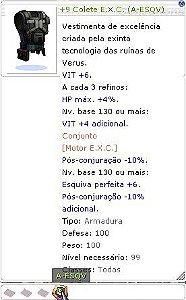 +9 Colete E.X.C (A-ESQV)
