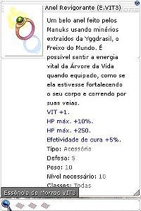Anel Revigorante (E.VIT3)