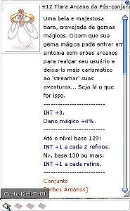 +12 Tiara Arcana da Pós-conjuração