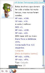 +9 Botas Temporais DES (Instinto) MIRA 4