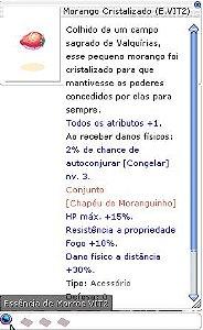 Morango Cristalizado (E.VIT2)