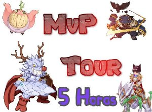 5 HORAS ( Ragnarok Mobile ) MVP TOUR