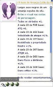 +9 Asas de Arcanjo Cáido da Pôtencia Lutador 6/5/5